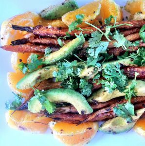 Carrot, Avocado & Orange Salad