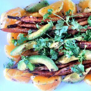 Carrot, Avocado & Orange Salad