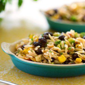 Orzo, Black Bean & Mango Salad