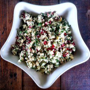 Gluten-Free Cauliflower Couscous