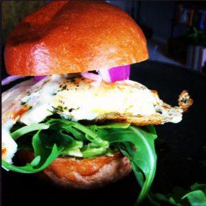 Fancy Breakfast Sandwich